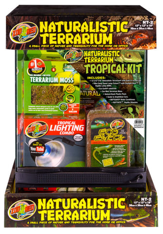 Zoo Med Naturalistic Tropical Kit 12x12x18