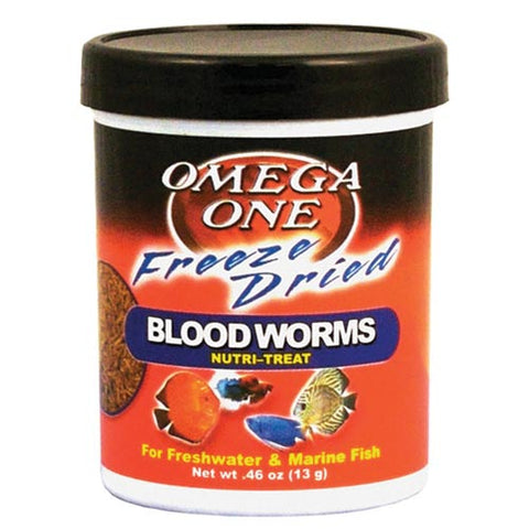Omega One Freeze-Dried Bloodworms