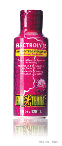 Exo Terra Electrolyte & Vitamin D3 Supplement