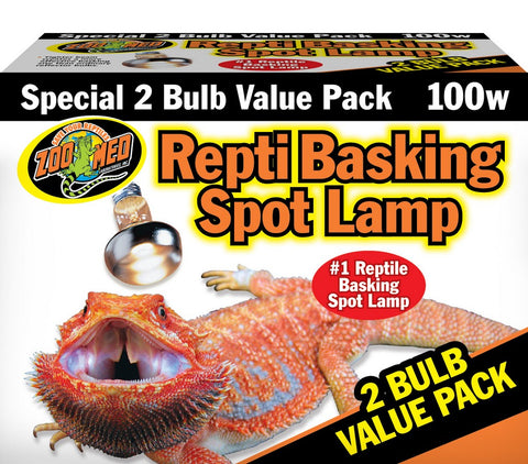 Zoo Med Repti Basking Spot Lamp (2-Pack)