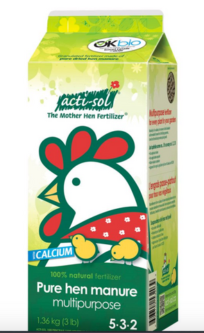 Acti-Sol Pure Hen Manure
