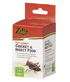 Zilla Cricket and Insect Food