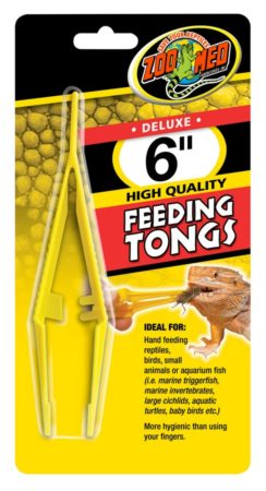 Zoo Med Feeding Tongs (Plastic)
