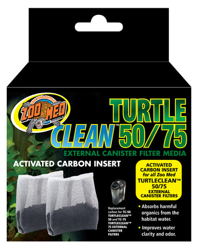 Zoo Med Turtle Clean 50/75 External Canister Filter Media (2 pack)