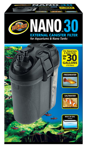 Zoo Med Nano 30 External Canister Filter