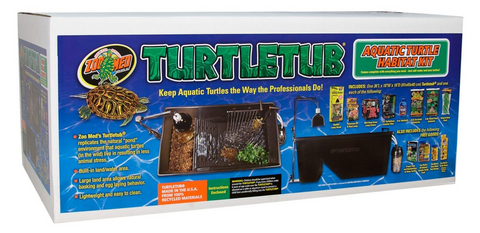 Zoo Med Turtle Tub Kit