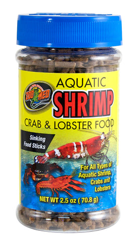 Zoo Med Aquatic Shrimp Crab & Lobster Food