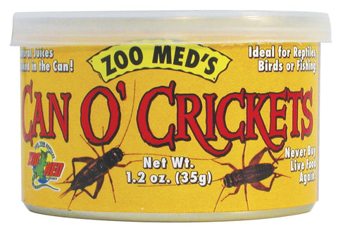 Zoo Med Can O' Crickets (Gryllus Linnaeus)