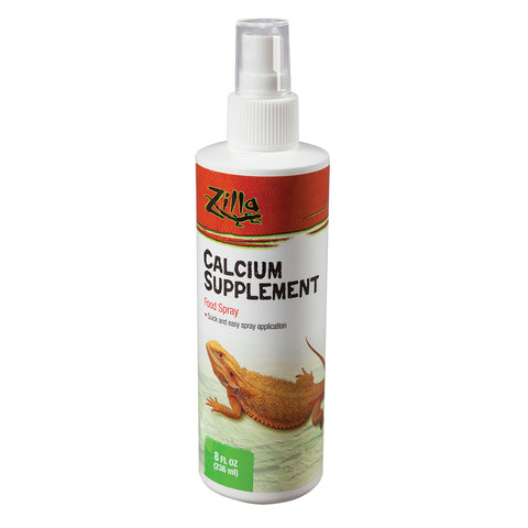 Zilla Food Spray Calcium Supplement - Food Spray - 237ml (8 fl oz)