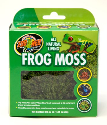 Zoo Med Natural Frog Moss