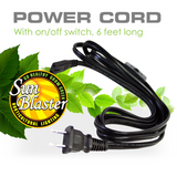 SunBlaster Power Cord