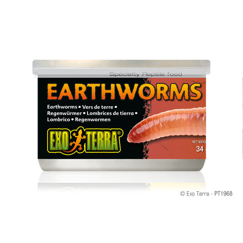 Exo Terra Canned Earthworms