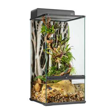 "Exo Terra Advanced Paludarium & Terrarium - Mini X-Tall (12 x 12 x 24"")"