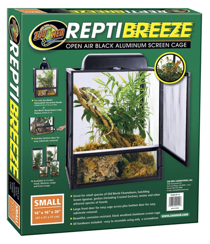 Zoo Med ReptiBreeze Aluminum Screen Cage
