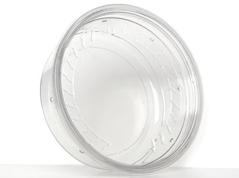 "Super Clear Lid 4.5"" - 10 Pack"