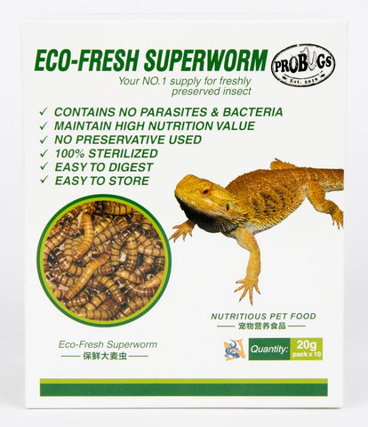 Eco-Fresh Superworms