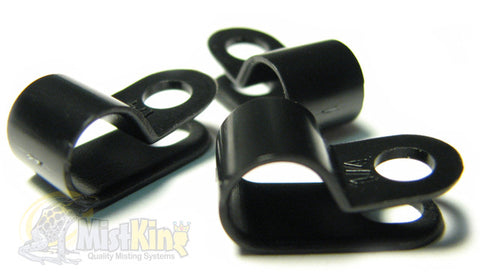 "Mist King Tubing Clips for 1/4"" tubing"