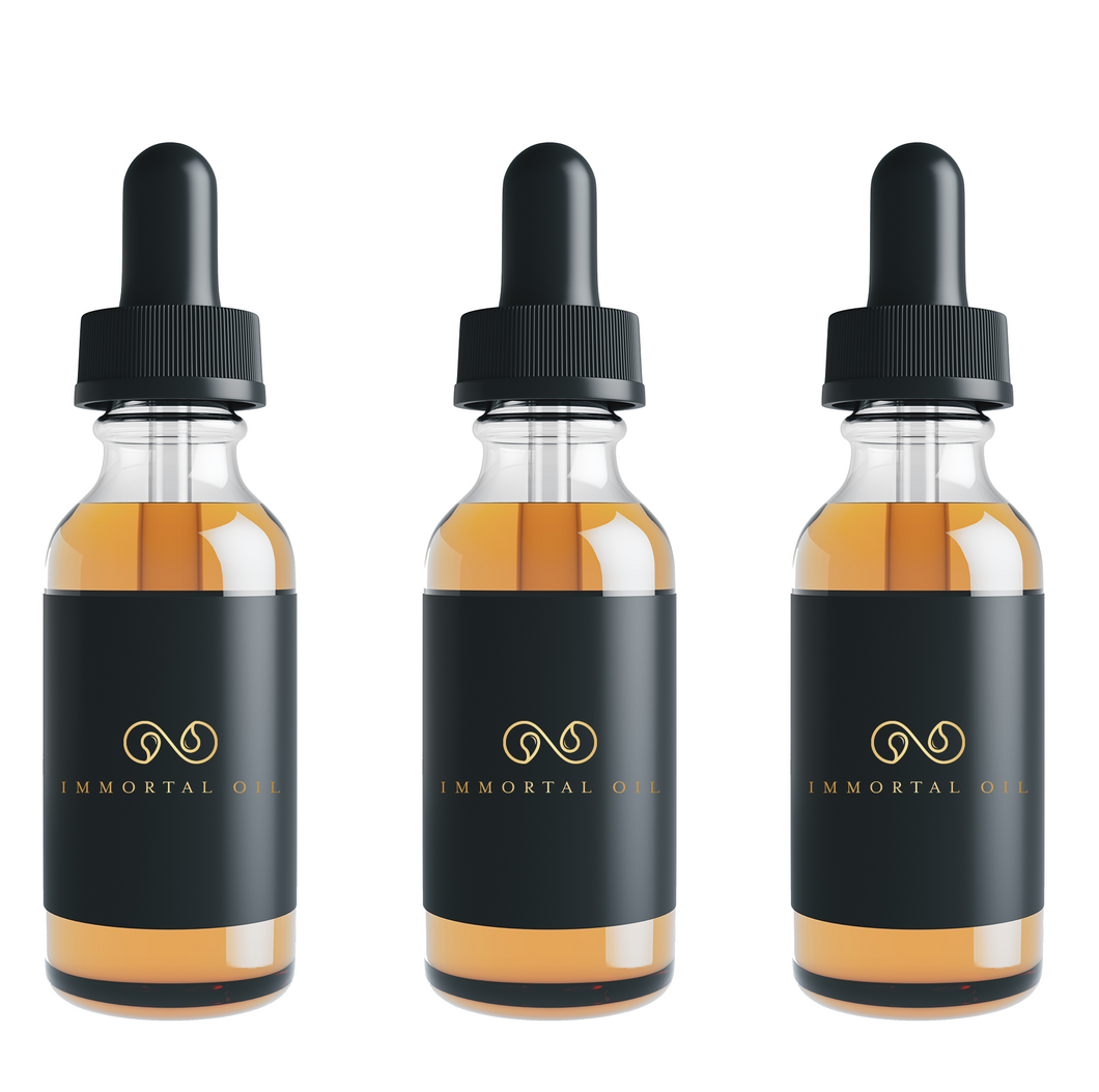 2oz Mint Flavored CBD Oil Drops - Triple Pack Membership