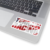Terrain Race USA Logo - Kiss-Cut Stickers