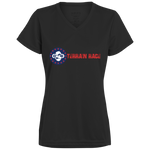Terrain Race Soldier - Women V- Neck Shirt