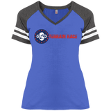 Terrain Race Soldier - District Ladies' Game V-Neck T-Shirt