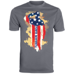 Terrain Race Soldier - Augusta Men's Wicking T-Shirt