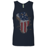 Terrain Race Soldier - Next Level Men's Cotton Tank
