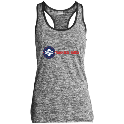 Terrain Race Soldier - Sport-Tek Ladies' Moisture Wicking Racerback Tank