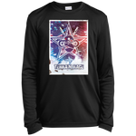 Terrain Race Stars & Stripes Youth LS Moisture-Wicking T-Shirt