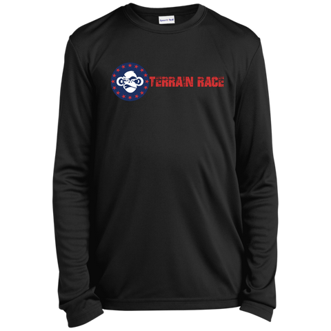 Terrain Race Monkey Youth LS Moisture-Wicking T-Shirt