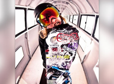Professional Snowboarder Erika Vikander Joins The LA ISLA Team!