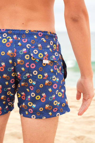 Donuts and Coffee Boardshorts