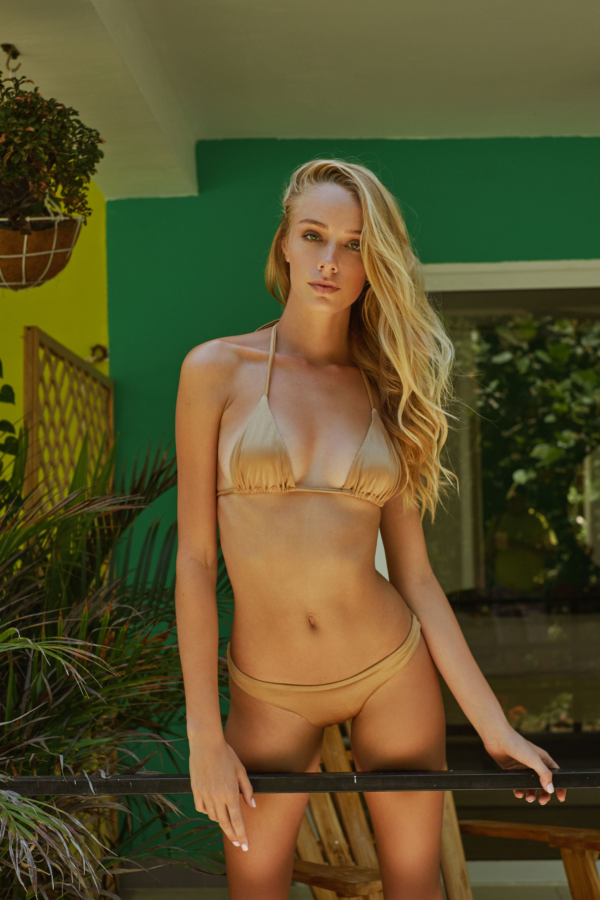 Cartagena Gold Bikini Set