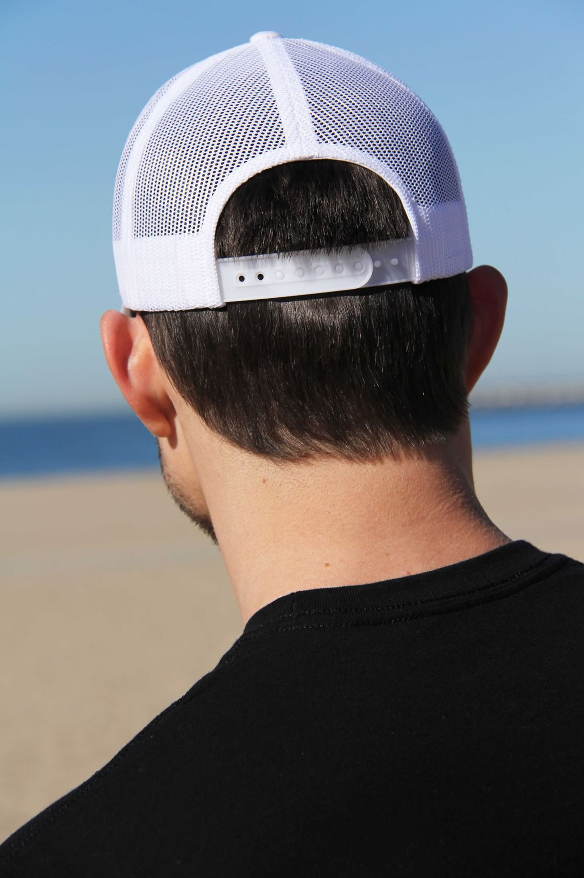 Retro Trucker Cap (White)