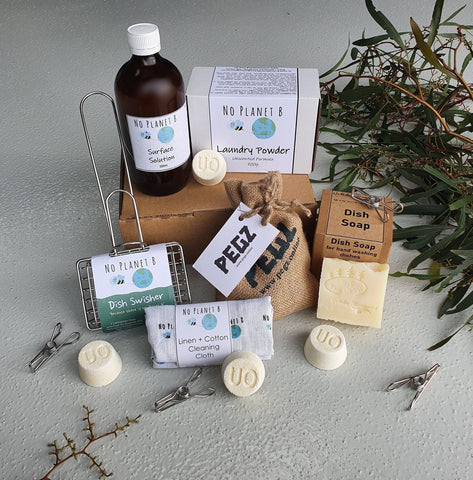 Cleaning products by Urthly Organics. Handmade cleaning in Bendigo, Australia