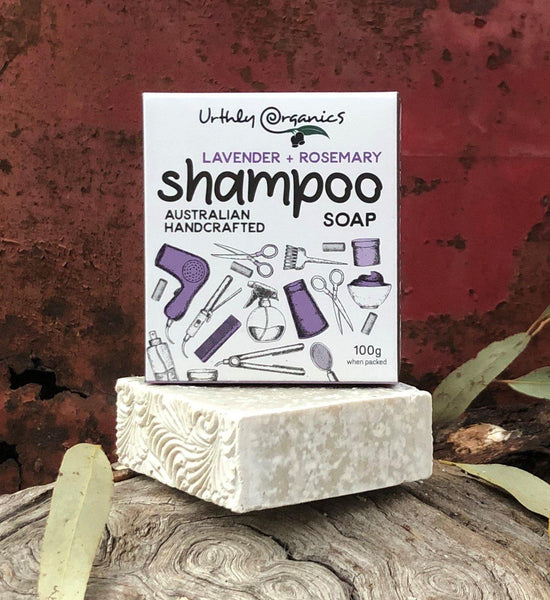 Lavender + Rosemary Shampoo Soap Bar