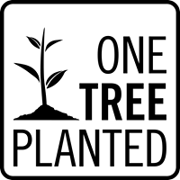 One Tree to be Planted (Cover the C02 Cost of your order)