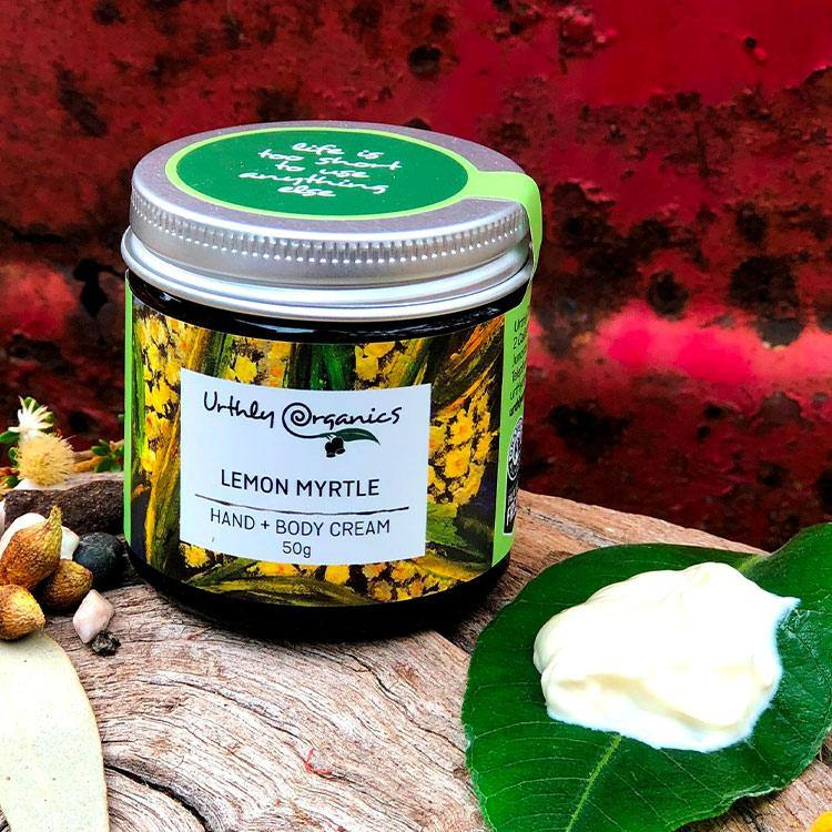Lemon Myrtle Hand & Body Cream
