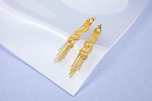 Lace Earrings No. 1