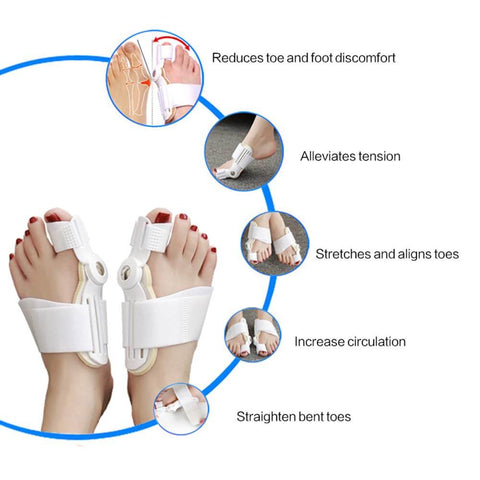 Clothing - Best Orthopedic Bunion Corrector - Adjustable And Non-Surgical Natural Treatment & Relief