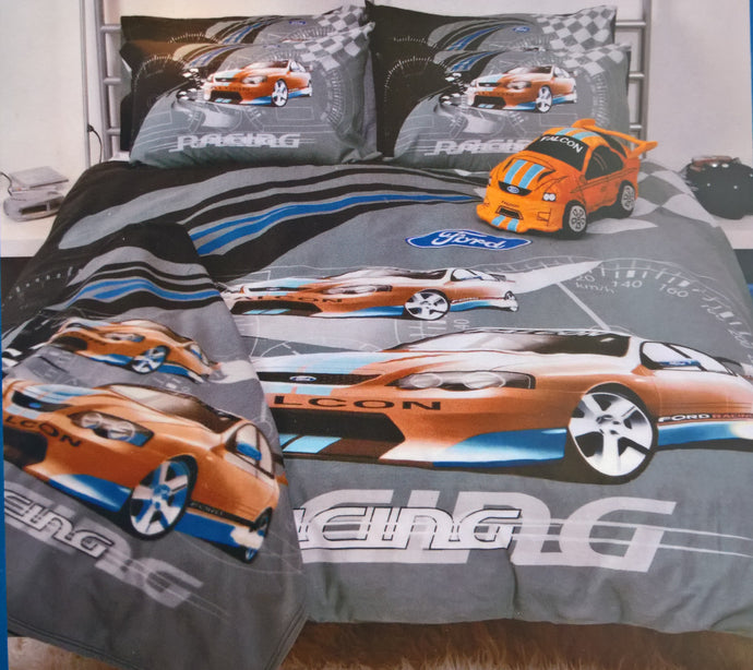 Ford Racing Doona Bed Quilt Cover Nos
