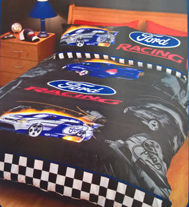 Ford Racing Falcon Single Bed Doona Quilt Cover