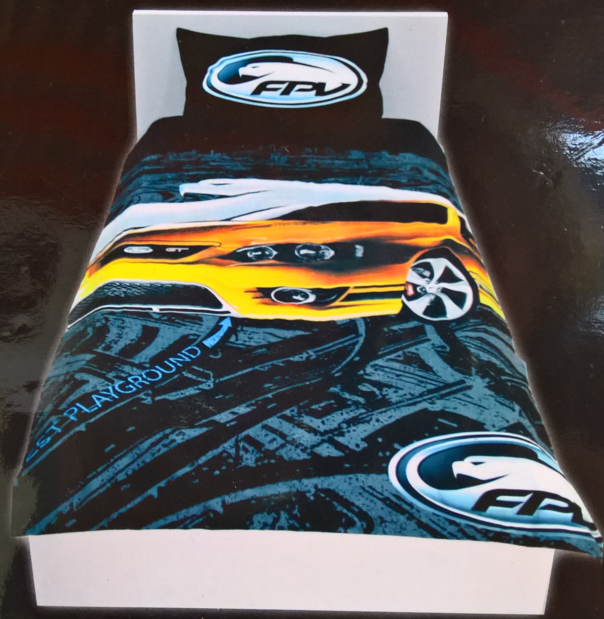 Ford Fpv Gt P Boss  Octane Falcon Doona Bed Quilt Cover