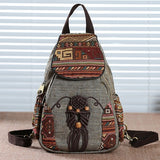 Vintage Handmade Mini Backpacks
