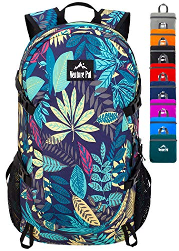 Lightweight Packable Backpack with Wet Pocket - Durable Waterproof