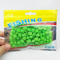 Hot selling! 100Pcs/Lot 44grams Soft Baits corn with corn smell carp Fishing Lures Floating baits 004