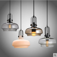 Pendant Light Vintage Ceiling Lamp Multi Color Cystal Glass For Bar Loft Coffee Shopp Hall Droplight Hanging light