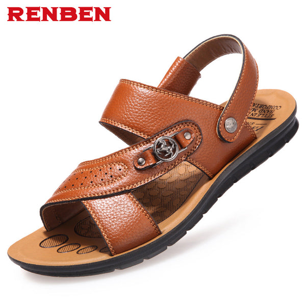 2018 new fashion sandals men shoes