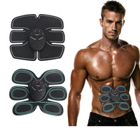 Body Slimming Shaper Machine TENS Electronic Abdominal Fitness Accessories EMS Wireless Electric Muscle Stimulator Massager