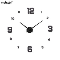 New Wall Decoration  Mirror Wall Clock Modem Design